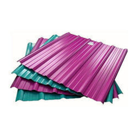 Color Coated Galvanized Corrugated Steel Ral Roofing Sheet