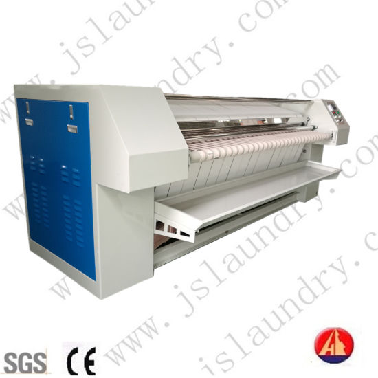 LPG Type Bed Line Flat Roller Ironer Machine with Rear out