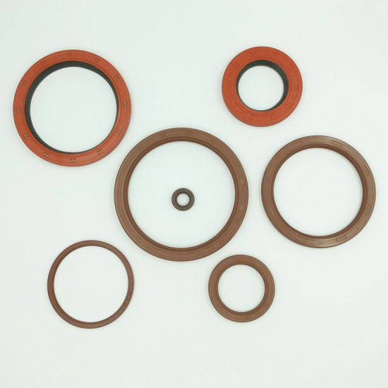 Customizable Hot Sale EPDM/FPM Bonded Seal, Rubber Sealing O Ring, Silicone Rubber Oil Seal