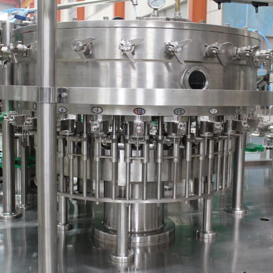 5000bph Automatic CSD Rinsing Filling Capping Machine with PLC Control pictures & photos