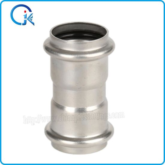 V Press Coupling Stainless Steel Press Fittings