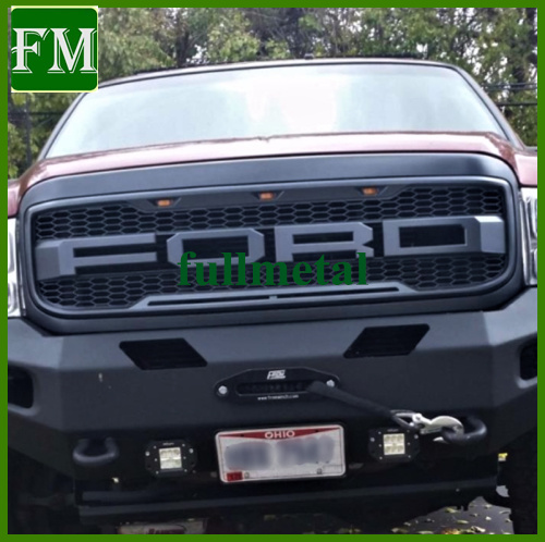 china 99 04 f250 f350 grille abs raptor style grill pick up china raptor style grille ford accessories china 99 04 f250 f350 grille abs raptor