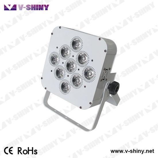 RGBW 4in1 WiFi Wireless LED Battery PAR Stage Light