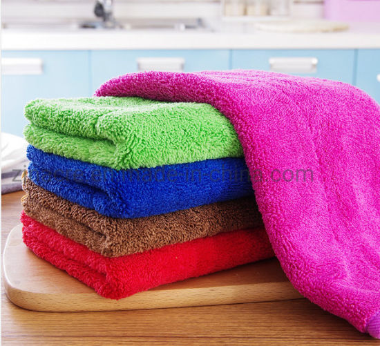 Car Cleaning Microfiber Towel pictures & photos
