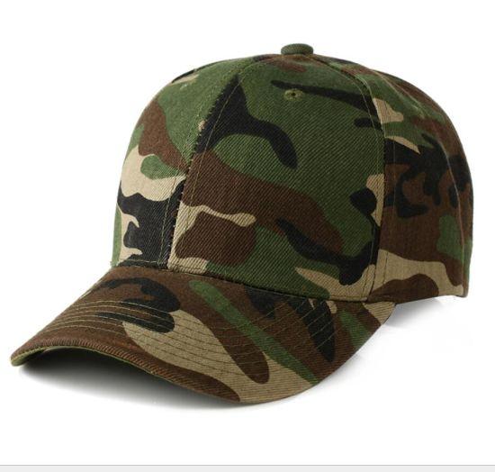 Custom 5 Panel Camo Printed Curved Brims Snapback Basketball Hat