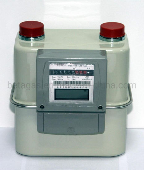 IC Card Prepayment Commercial Gas Meter pictures & photos