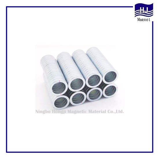 Special Ring Neodymium Magnet NdFeB Permanent Magnet with Customized Mark for Speaker Industrial pictures & photos