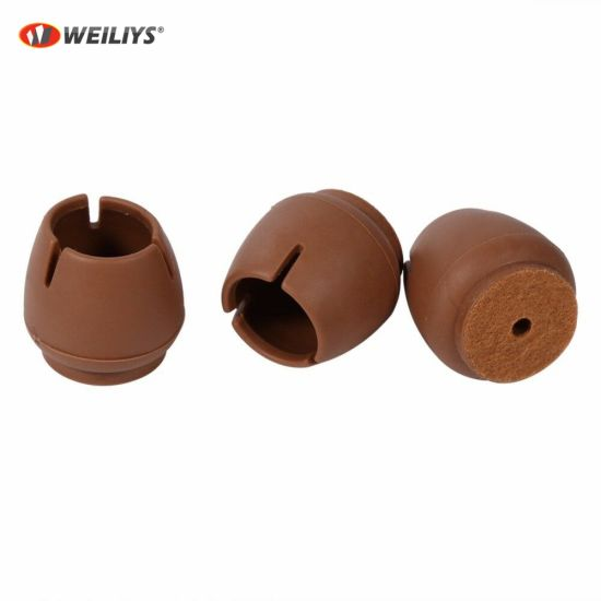Round Bottom Chair Leg Protector Pads