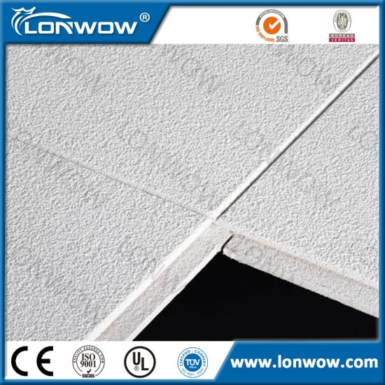 Hot Sell Acoustic Mineral Fibre Ceiling Tiles