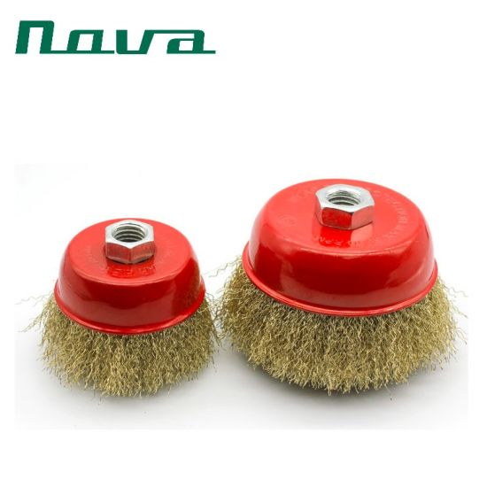 Abrasive Wire Cup Wheel Brush for Cleaning Remove Rust pictures & photos