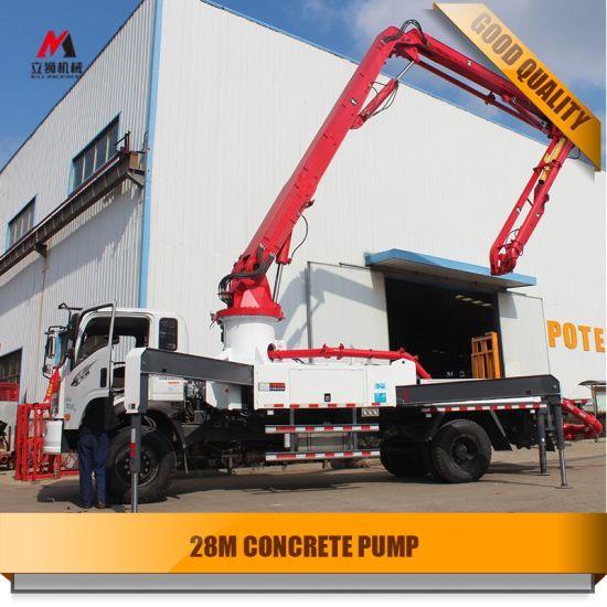 28m Concrete Machinery /Concrete Pump
