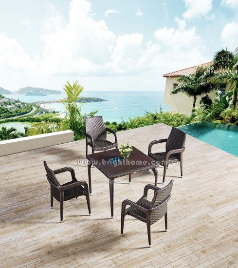Wholesale Garden Leisure Dining Chair and Table Patio Outdoor Furniture