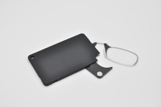 Thin Optic Personal Wallet Pocket Nose Pad Reading Glasses Silicon Mini Reading Glasses Without Arms