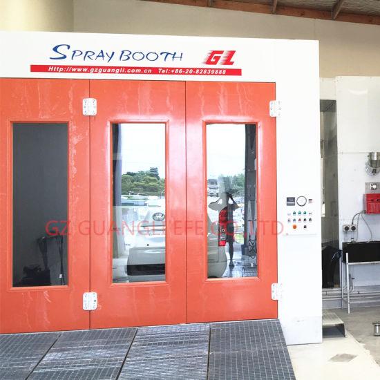 Au Standard Full Downdraft Auto Spray Booth for Sale