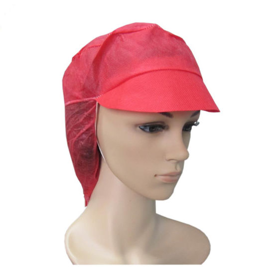 Nonwoven Disposable Snood Cap/Women Working Cap
