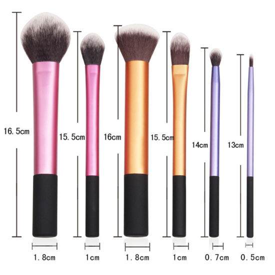 6 Pieces Professional Face Eye Shadow