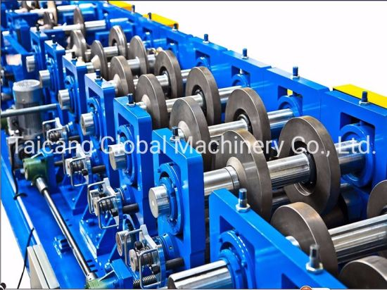 Automatic High Speed Strut Channel CUZ Purlin Roofing Cold Roll Forming Machine Lipped Channel Making Machine Stud and Track Machine