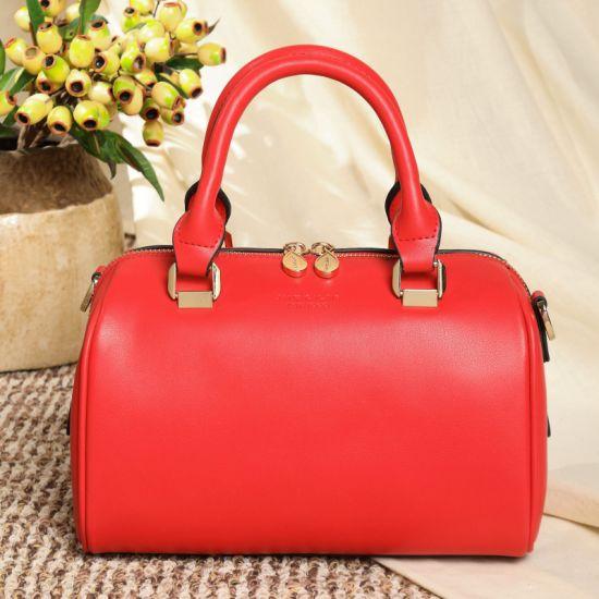 Wholesale OEM Pure Color Fashion Large Holder PU Women Lady Handbag Tote Bags Women Handbag