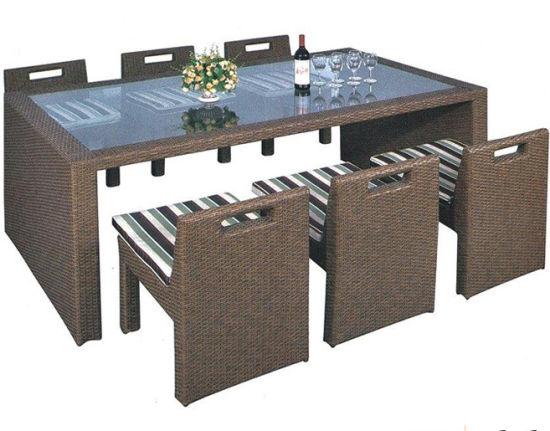 China Luxury Used Wicker Furniture
