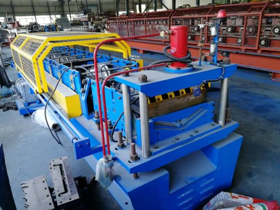 C11-125 Cold Roll Forminh Machine for Ridge Cap with PLC Control