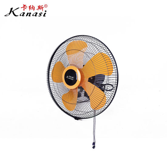 Powerful ABS Blade Home Interior Wall Fan with Low Noise for Residential Use