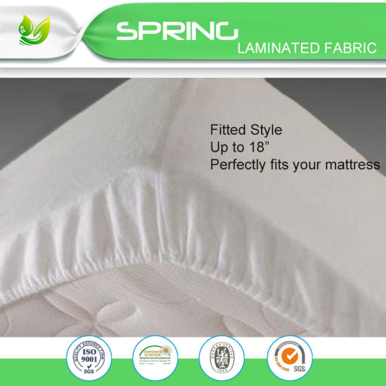 Bed Guard Hypoallergenic Waterproof Zipper Mattress Cover Full / Double Size pictures & photos