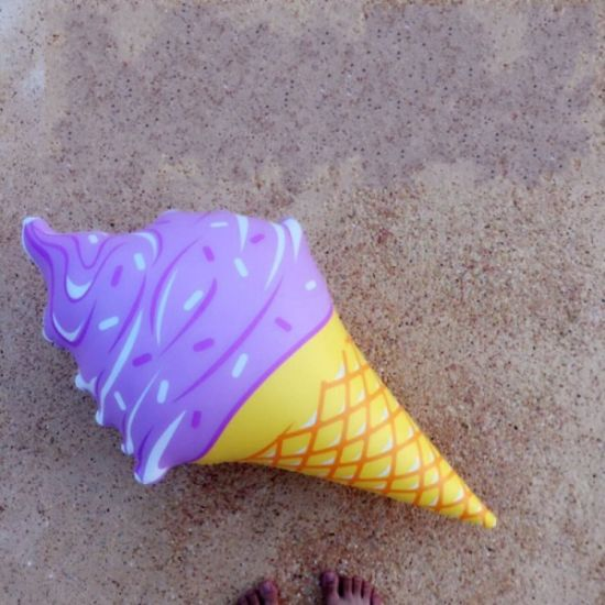 36 Inch Ice Cream Cone Set Pool Inflatable Pool Float pictures & photos