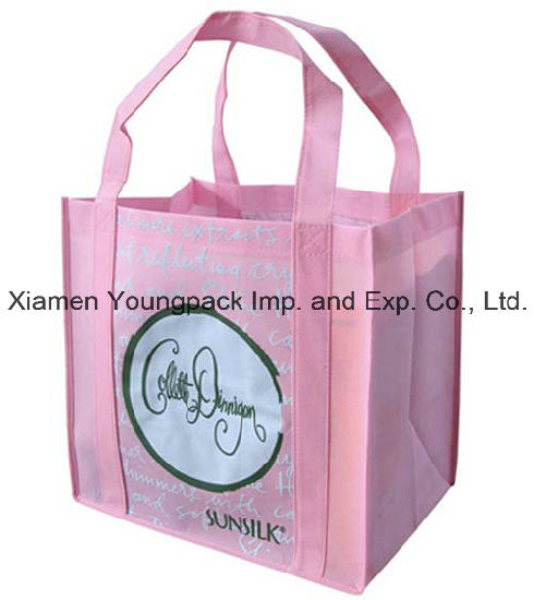Personalized Extra Large Non-Woven Eco Friendly Resuable Carry All Tote Bag pictures & photos