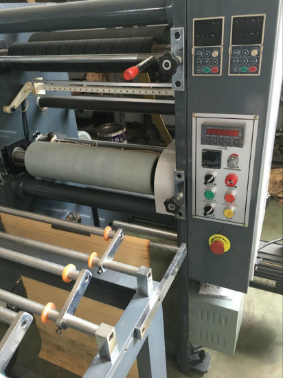 Hobbing Cutter Rolling and Perforating Plastic Bag Making Machine pictures & photos