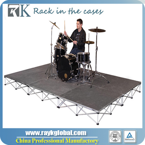 Portable Stage Folding Stage Stage Decoration Backdrop Design pictures & photos