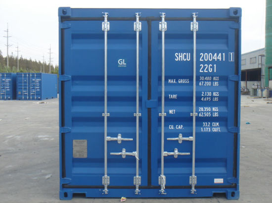 China 20gp Dry Cargo Containers for Sale - China New and