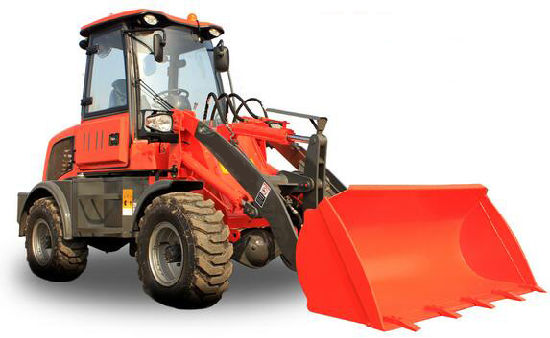 1ton Mini Front End Loader with Log Grapple pictures & photos