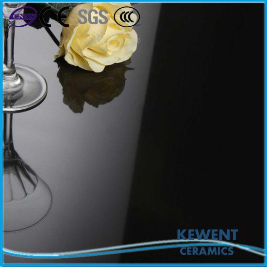 60X60 Full Body Super Black Polished Porcelain Floor Tiles