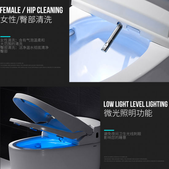 Manufacturer Smart Ceramic Toilet with Auto Control System pictures & photos