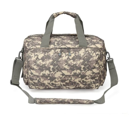 Wholesale Stock Black Outdoor Sport Duffel Bag Waterproof Tactical Hiking Finishing Backpack Bag