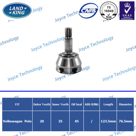 OEM Auto Spare Parts Outer CV Joint VW-006 for Volkswagen Polo pictures & photos