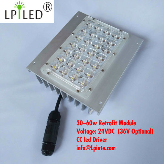 60W Retrofit Streetlight Kit Module 24VDC 2.5A pictures & photos