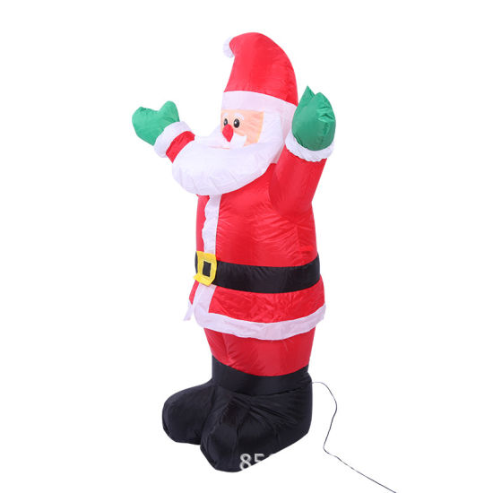 Giant Fabric Inflatable Santa Claus for Family Garden pictures & photos