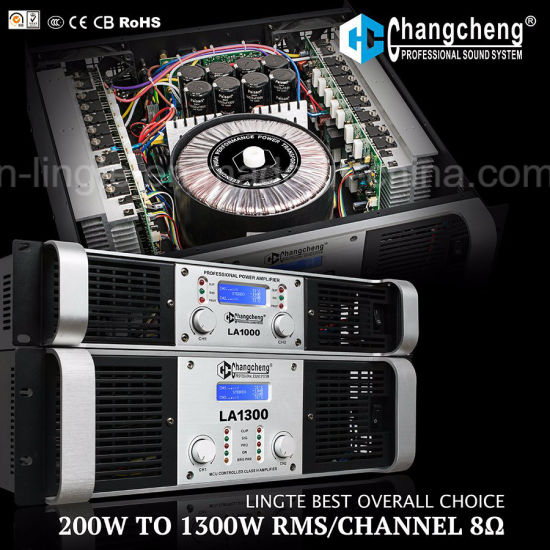 La Series Overall Low to High Professional Power Amplifier