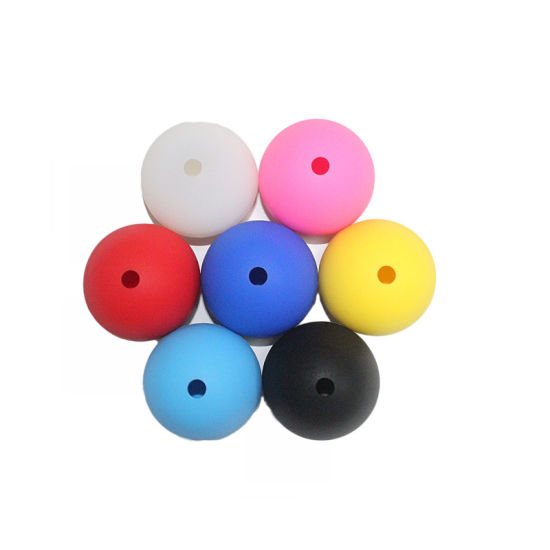 FDA Passed 1 Cavity Colorful Silicone Ball Ice Cube Tray
