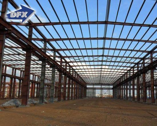 China prefabricated hangar shed garage gym hall mall barn china