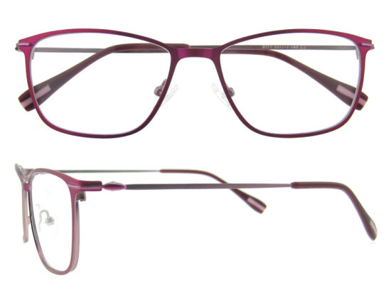 Popular Super Slim Stainless Steel Eyeglasses Frames for Women pictures & photos