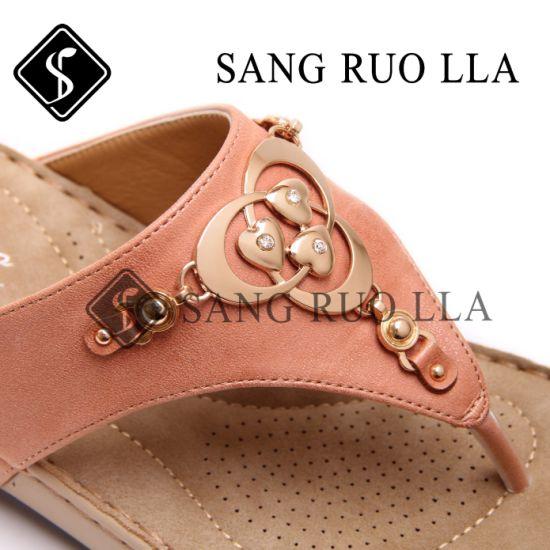 23173ae0168c China 2019 New Design Ladies Fashion Flat Slippers