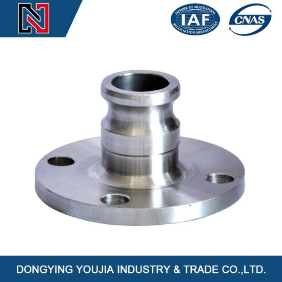 stainless Steel Casting Flange with Lost Wax Investment Casting