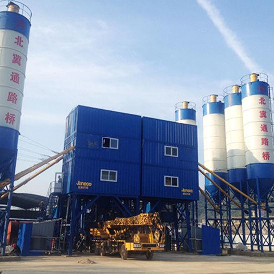 Detong Vibrating Mixing Machine Concrete Batching Plant Advantages