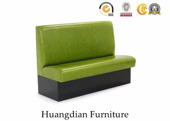 Simple Design Modern Restaurant Furniture Banquette Seating Booth (HD482)