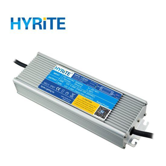 24V DC 60W to 300W Flicker Free Electronics LED Driver