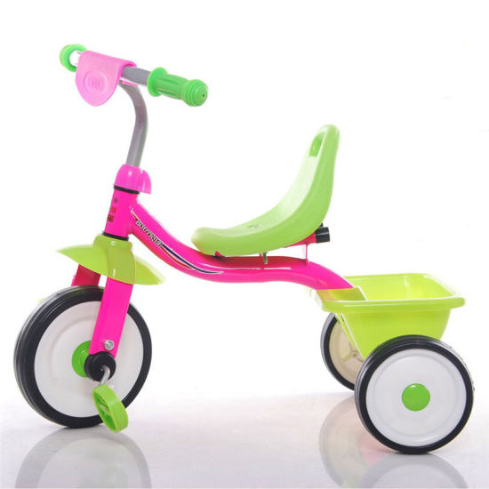 Red Color Baby Three Wheel Tricycle with Big Wheels pictures & photos