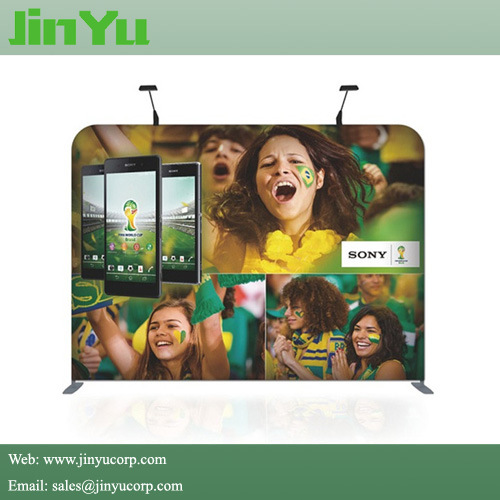 Waveline Tube Straight Fabric Display Stand pictures & photos