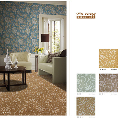 Hight Quality Polypropylene Single Twist Stereotypes Carpet pictures & photos